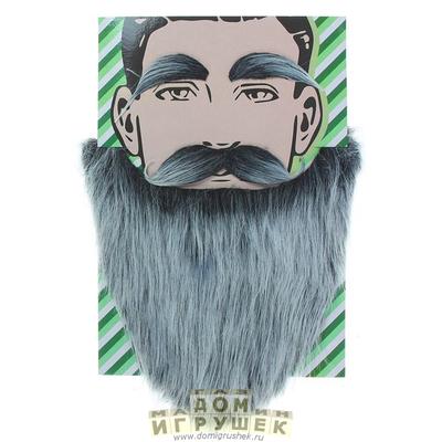 Борода седая длинная