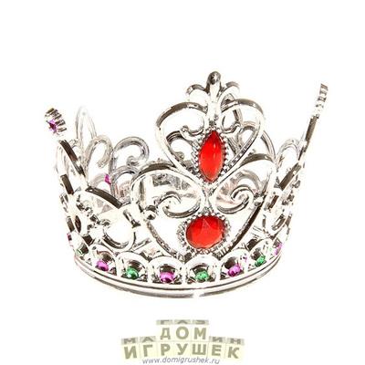Корона принцессы с рубинами