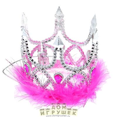 Корона принцессы серебряная