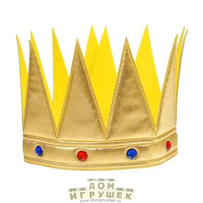 Как сделать корону для царя