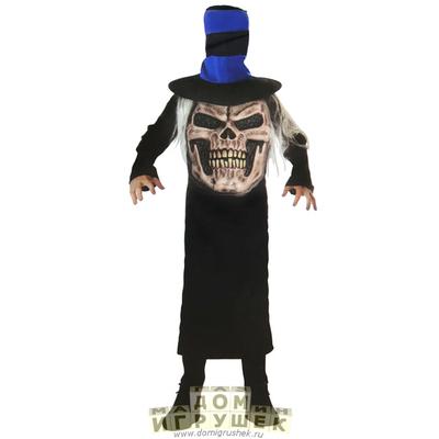 Костюм череп в шляпе