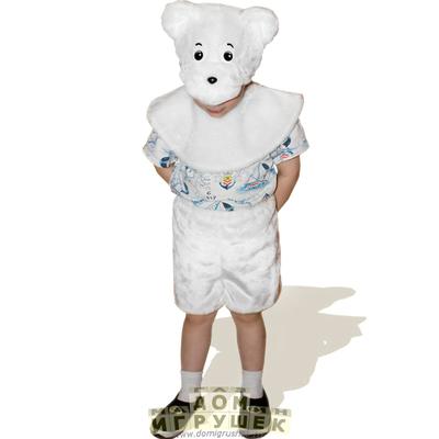 Костюм белого медведя своими руками фото