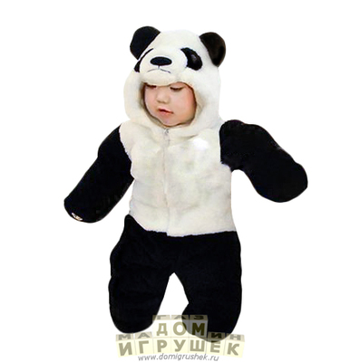 Костюм панды купить в магазине «Дом игрушек» 8f6e2a370bce4