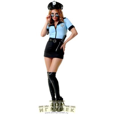 Костюм полицейского женский