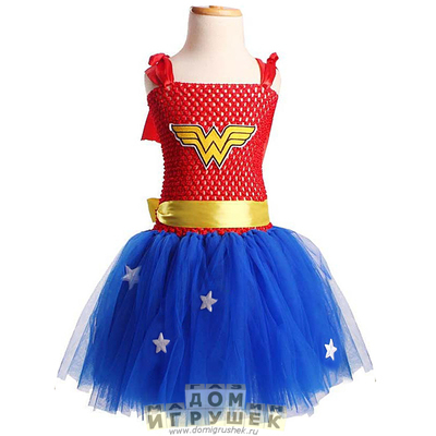 Костюм супергероя для девочки