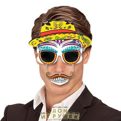 Очки мексиканца с усами