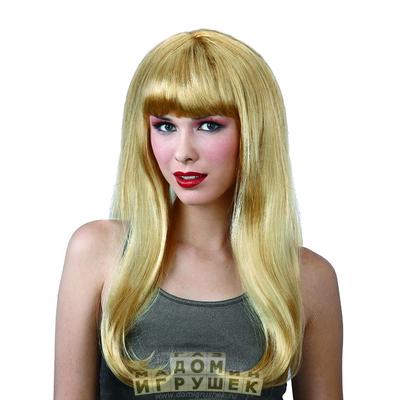 Парик блондинки длинный
