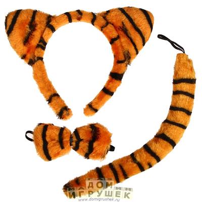 Ушки тигра ободок оксфорд что за материал