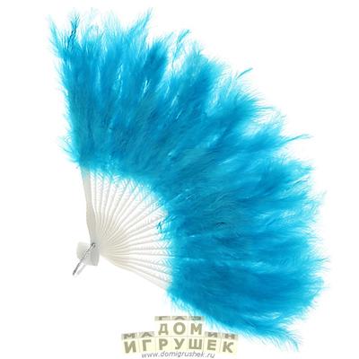 Веер голубой