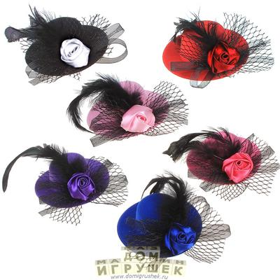 Шляпки с вуалью для девочки 146