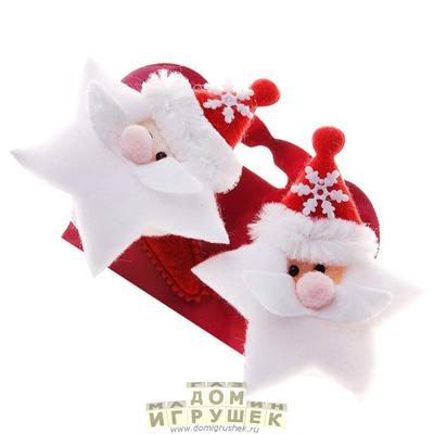 Заколки Дед Мороз