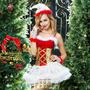 Костюм подружки Санта-Клауса