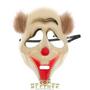 Маска клоуна